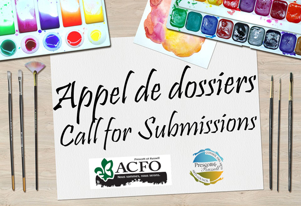 Appel de dossiers call for proposals
